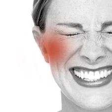 Douleur mâchoire, craquement mâchoire, blocage mâchoire . Gène à la mastication.